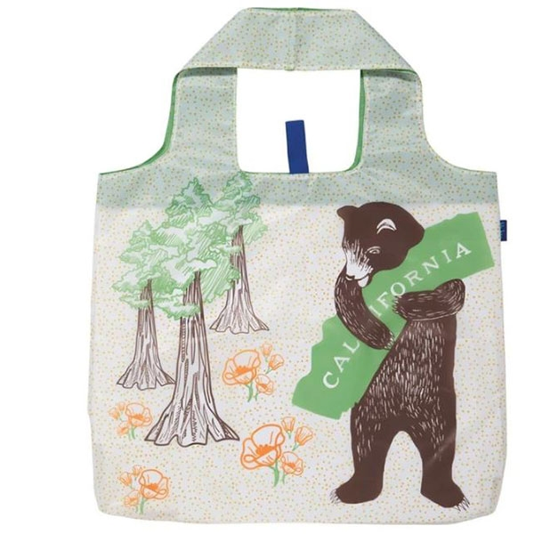CALIFORNIA BEAR BLU BAG REUSABLE BAG