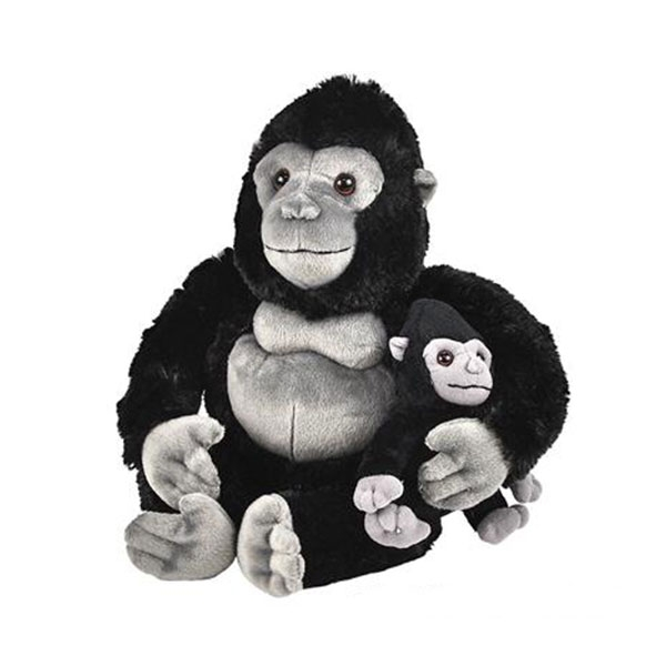 GORILLA MOM AND BABY PLUSH