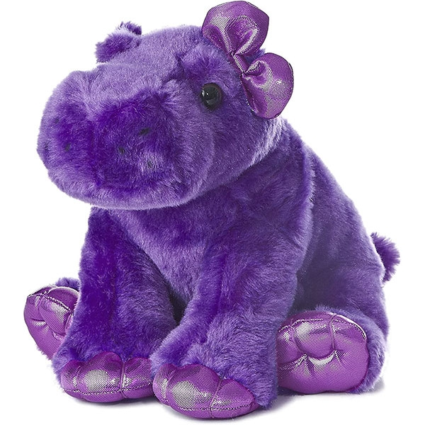 PURPLE HIPPO PLUSH