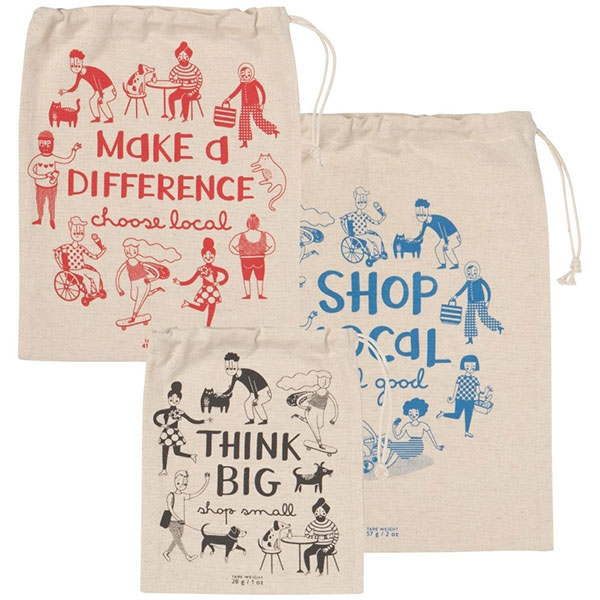 SHOP LOCAL PRODUCT BAGS SET