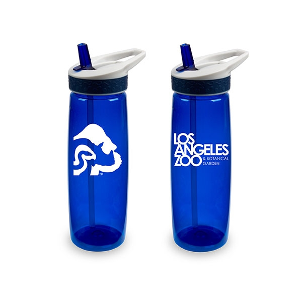 LOGO BOTTLE BLUE