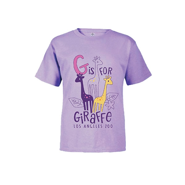 Toddler Short Sleeve Tee G is for Giraffe
