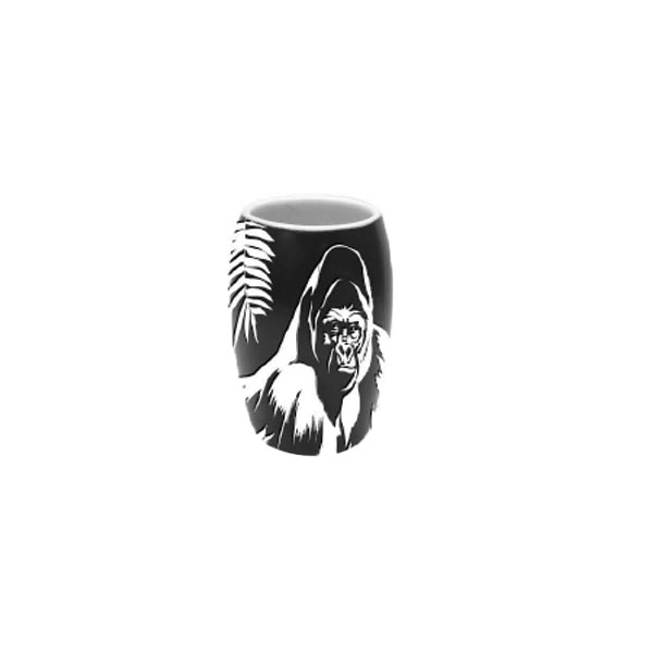 ETCHED GORILLA SHOT GLASS