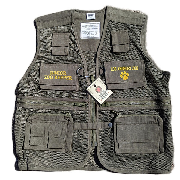 YOUTH ZOOKEEPER VEST GREEN
