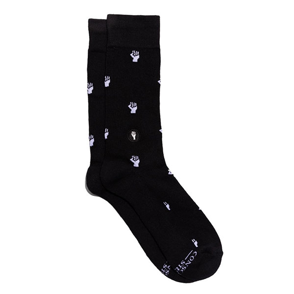 SOCKS THAT FIGHT FOR EQUALITY (Black)