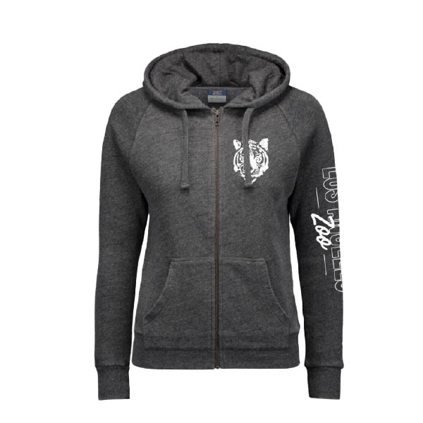 Ladies Zip Up Hoody Tiger