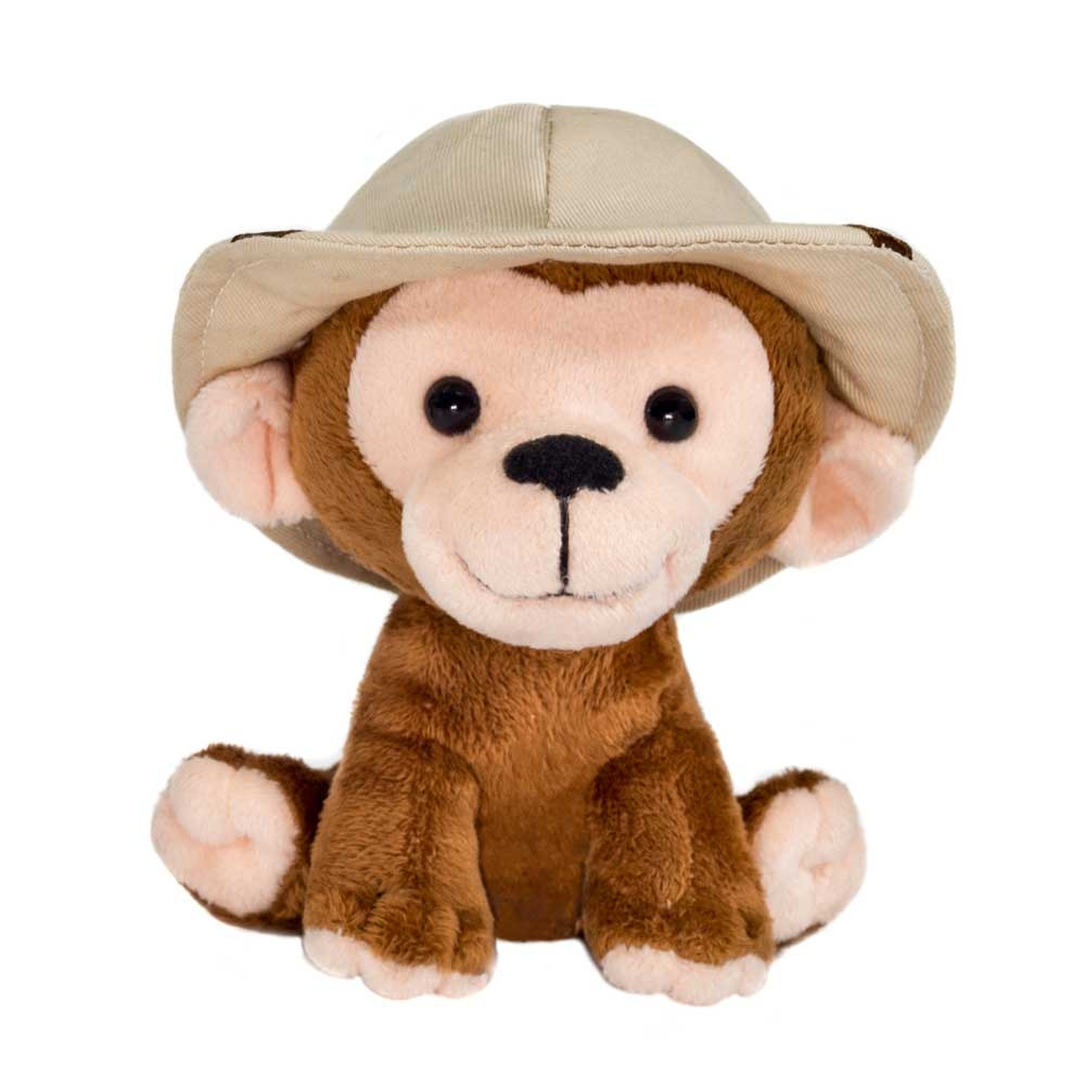 SAFARI FRIENDS MONKEY PLUSH