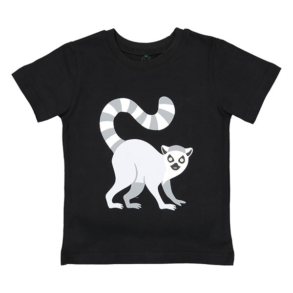 TODDLER SHORT SLEEVE TEE RINGTAIL LEMUR