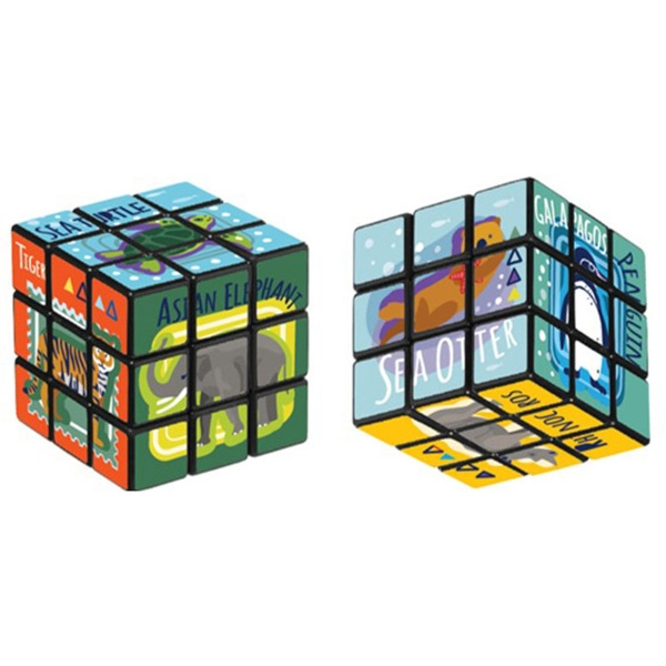 ENDANGERED SPECIES PUZZLE CUBE