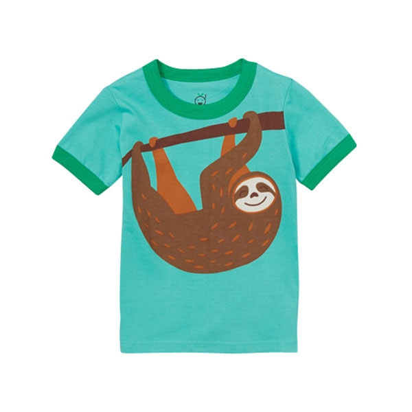 TODDLER SHORT SLEEVE TEE HAPPY SLOTH