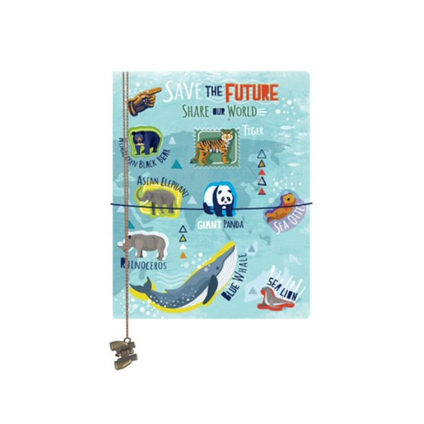 SAVE THE FUTURE, SHARE OUR WORLD JOURNAL